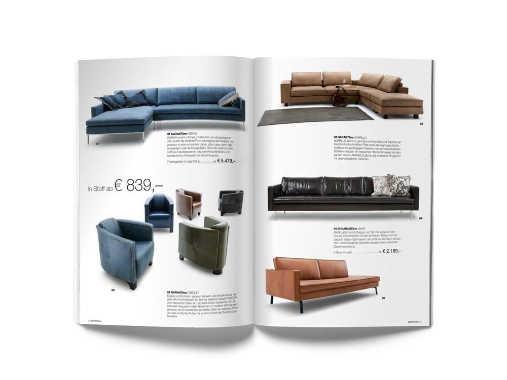 Verschiedene Bänke in einem Magazin