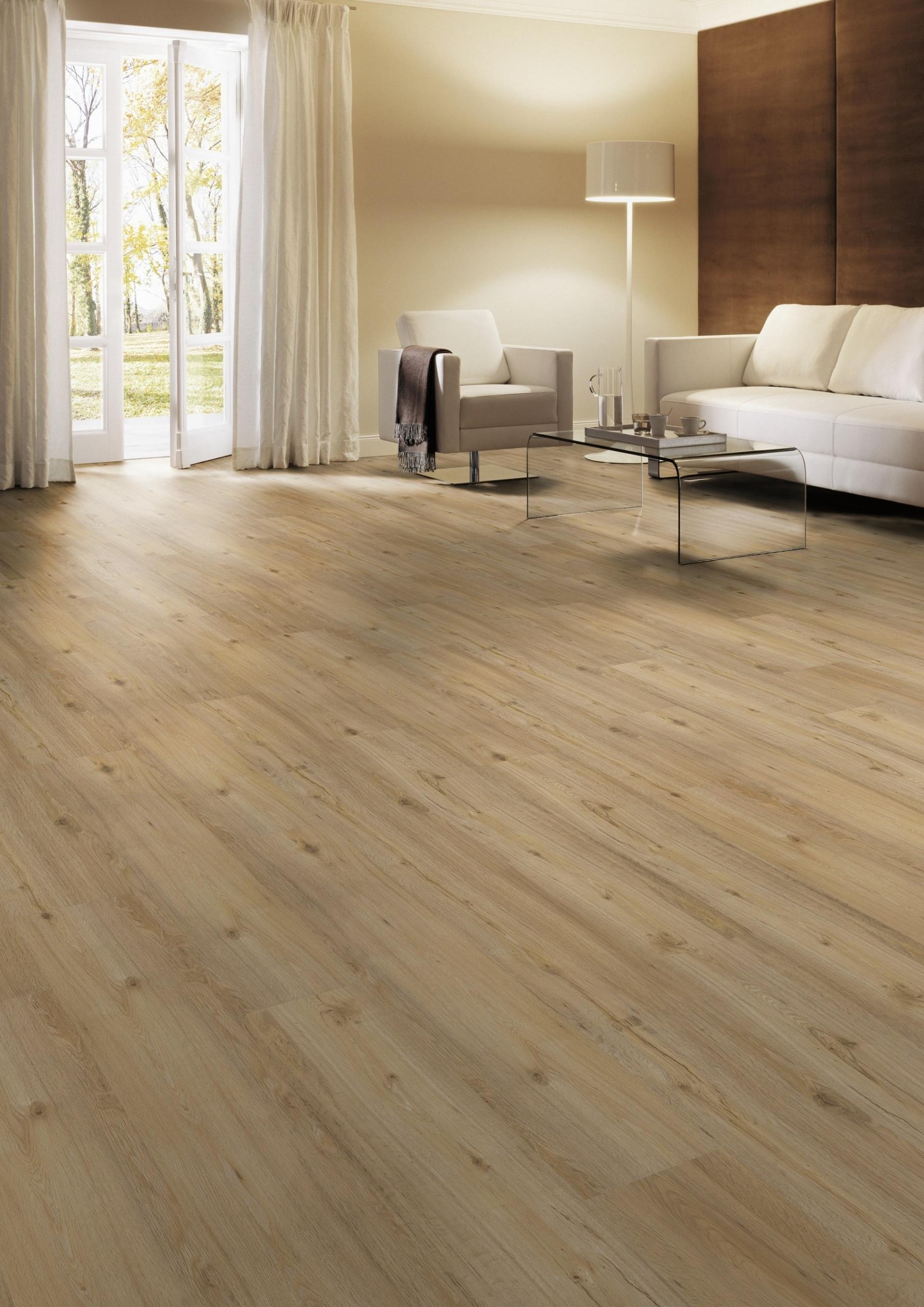 Wohnzimmer Boden aus Eiche Farbe Nevada Sor
