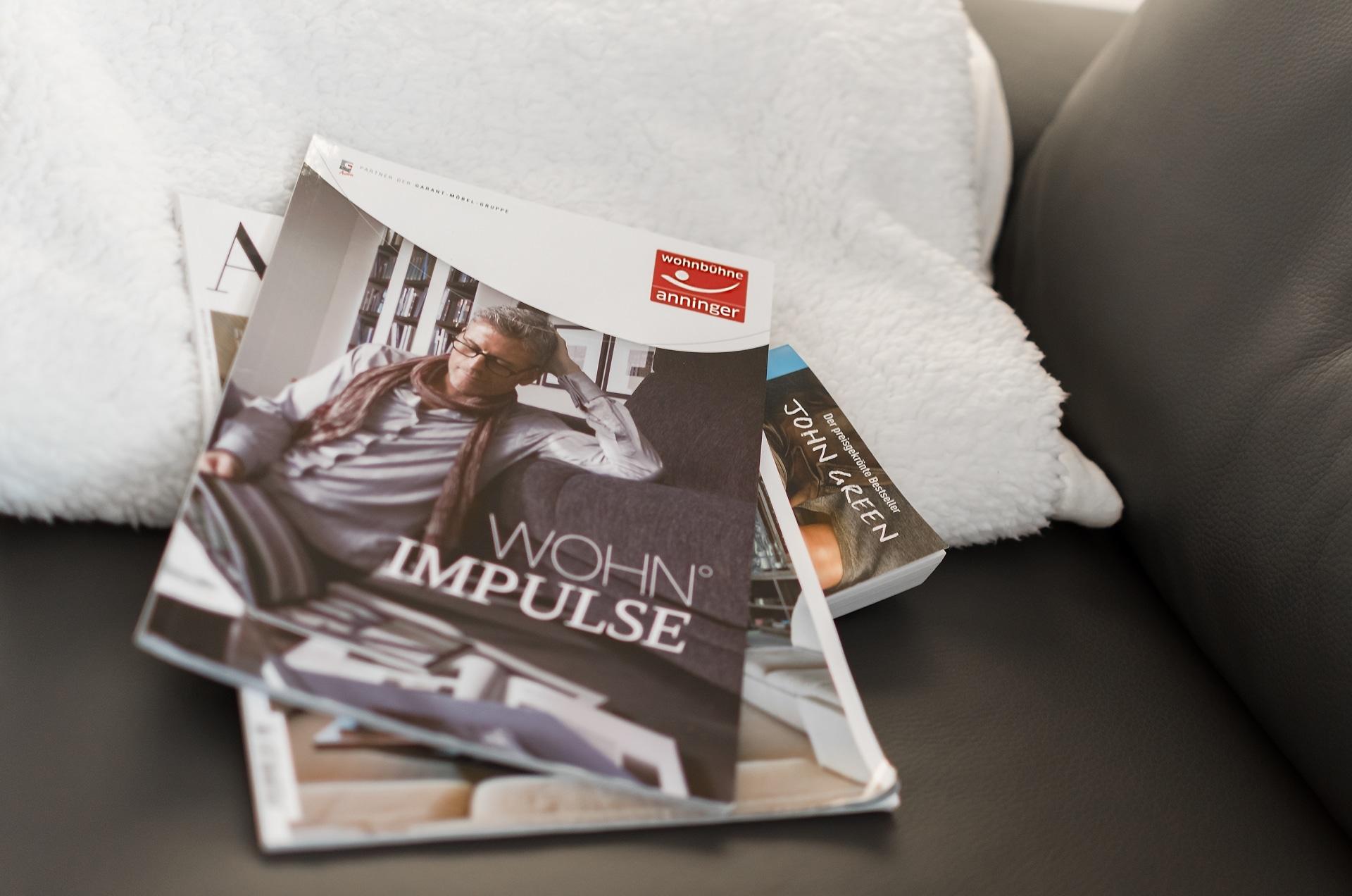 Wohn Impulse Magazin von Wohnbühne Anninger